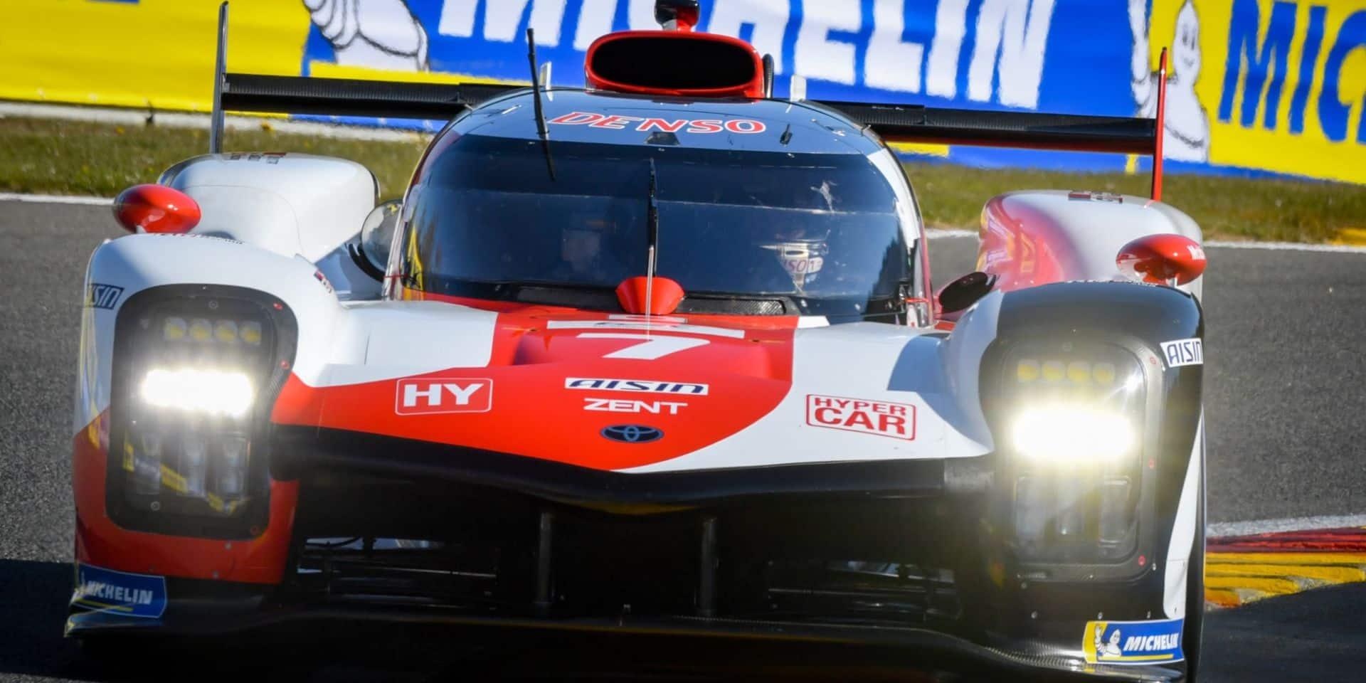 WEC 6H de Spa: Kamui Kobayashi signe la première pole d'une Toyota Hypercar