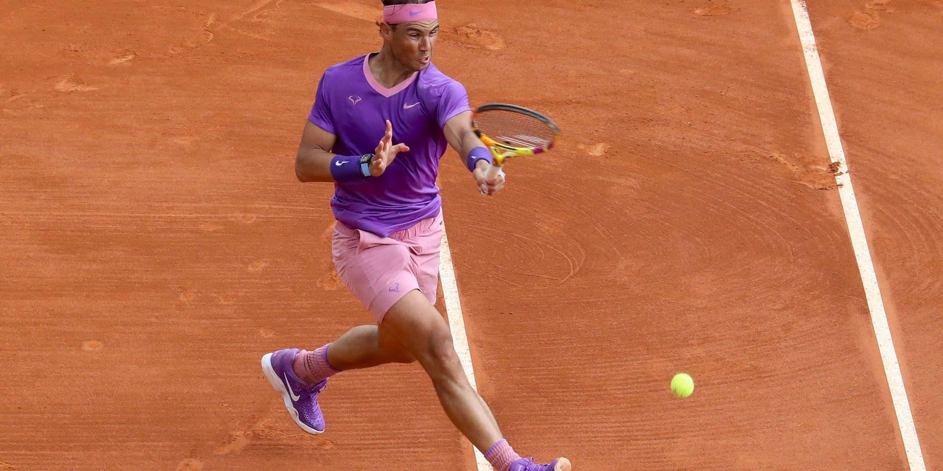 A Monte-Carlo, Nadal, Djokovic et Goffin ont déroulé