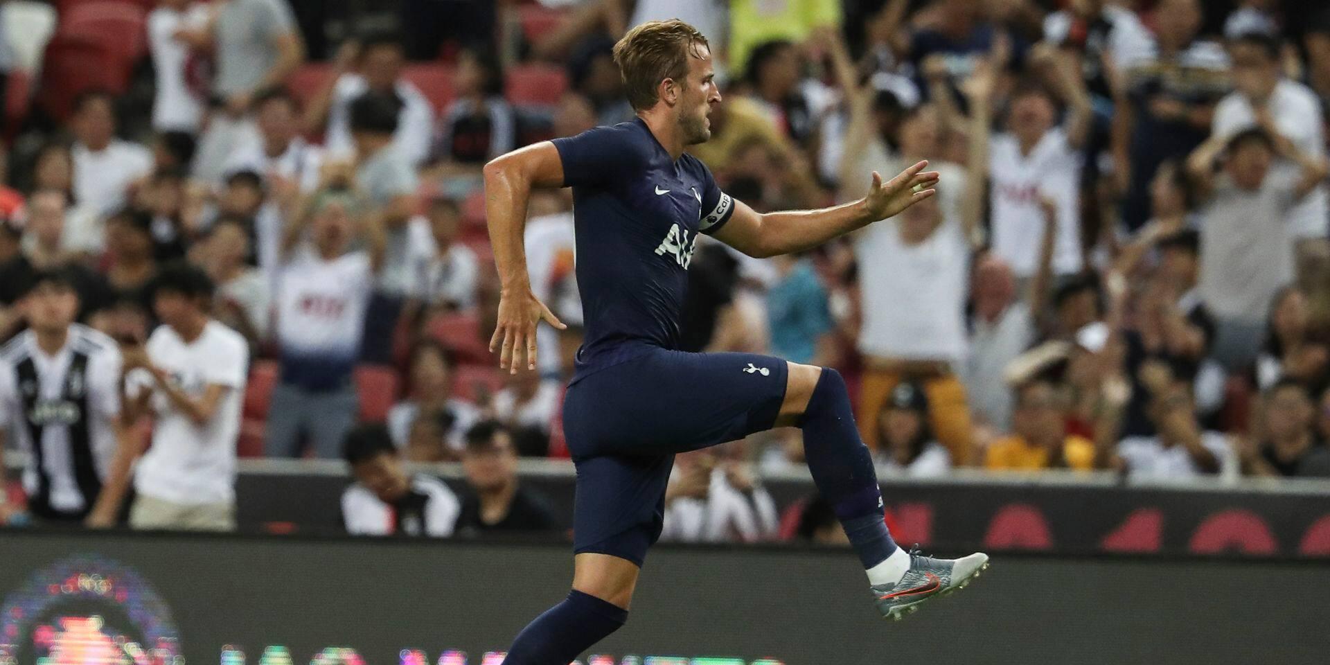 Harry Kane marque déjà le but de l'année