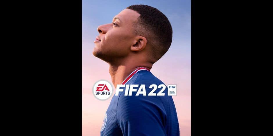Voici la jaquette de FIFA 22... avec Kylian Mbappé (PHOTOS)