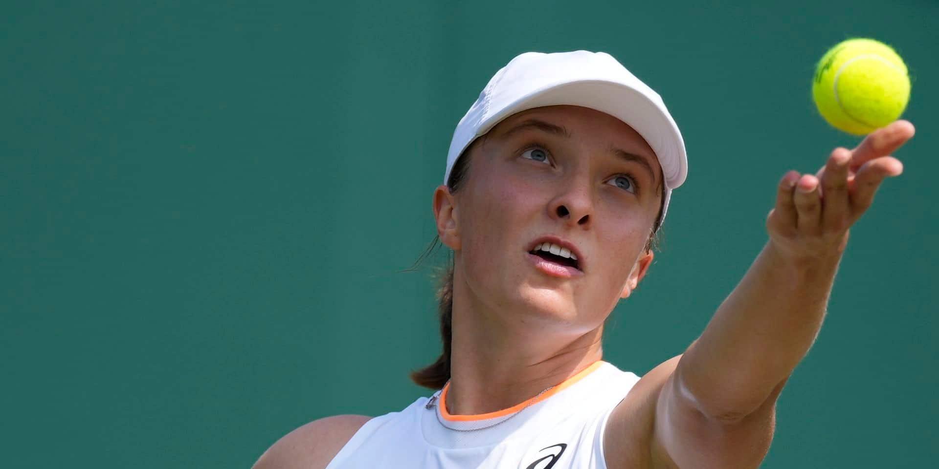 Wimbledon: Iga Swiatek était pressée, Aryna Sabalenka pour la première fois en 8e de finale