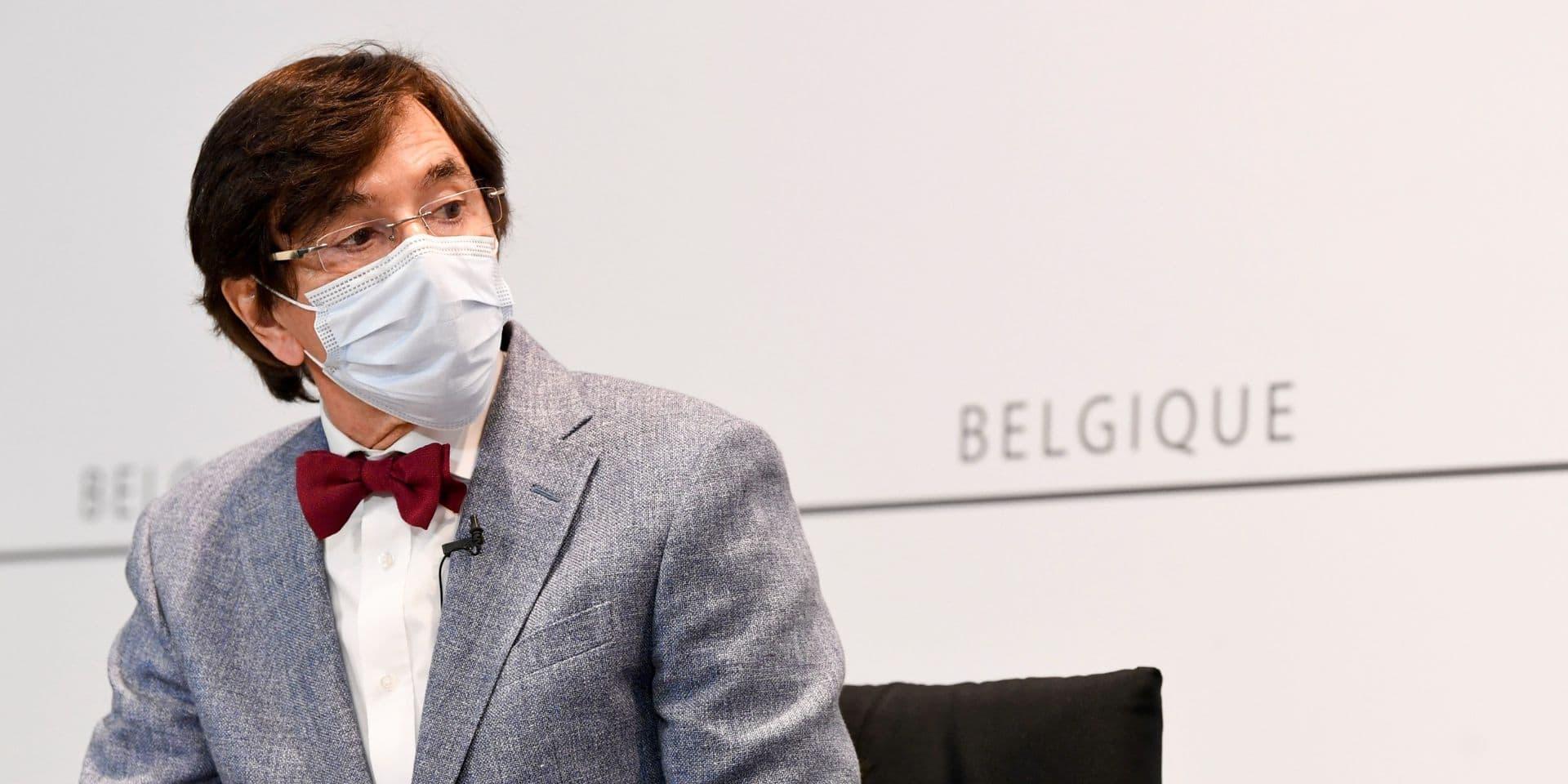 """Di Rupo: """"Tant que tout le monde n'a pas été invité à se faire vacciner, un coronapass constituerait une profonde injustice"""""""