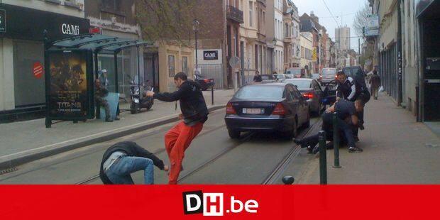 Baston au Châtelain agression rue Moris bruxelles bagarre