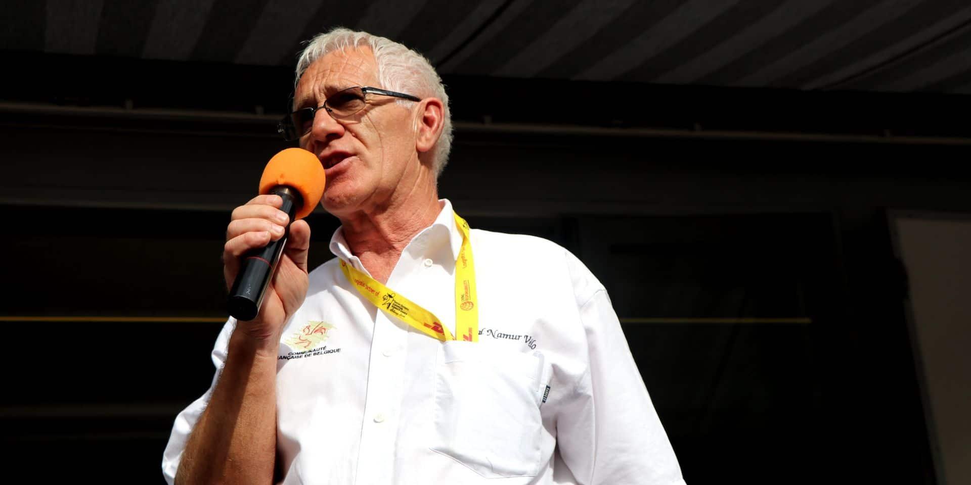 Christian Bouillot passe la main au Tour de Namur