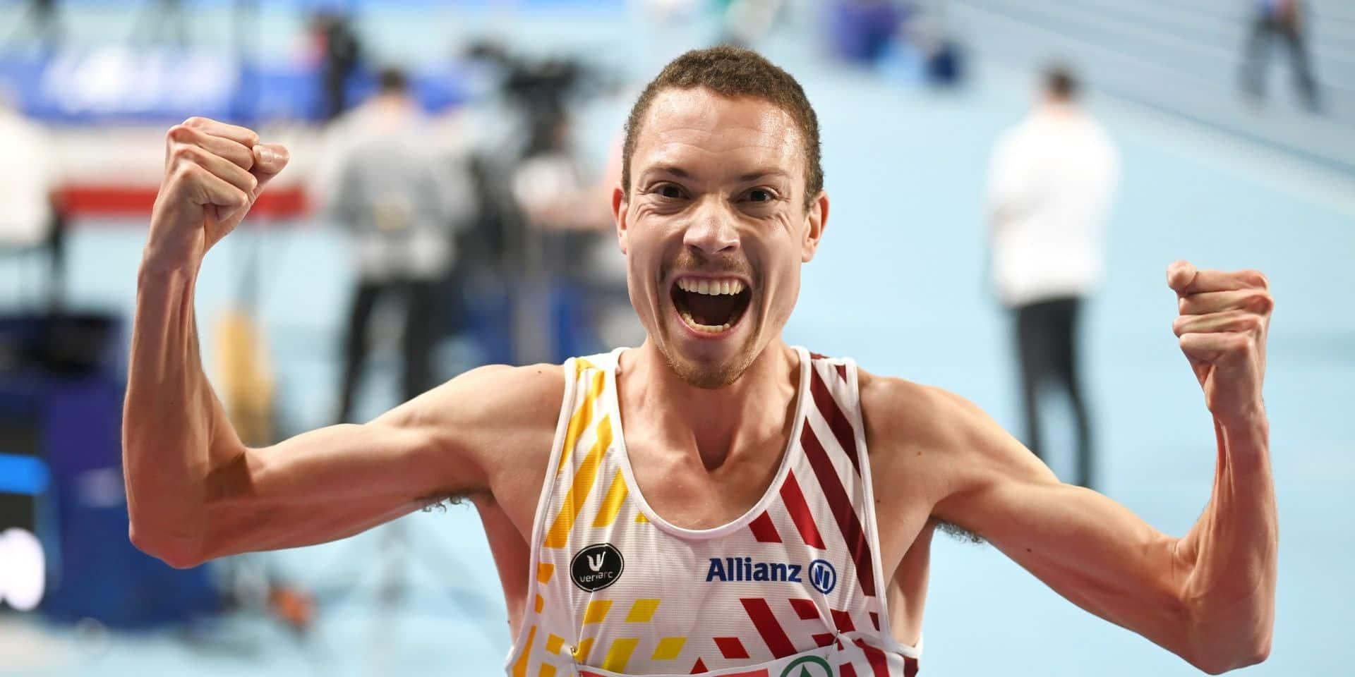 Euro d'athlétisme en salle: Robin Hendrix en finale du 3000 m, Anne Zagré et Eline Berings qualifiées pour les demi-finales du 60 m haies