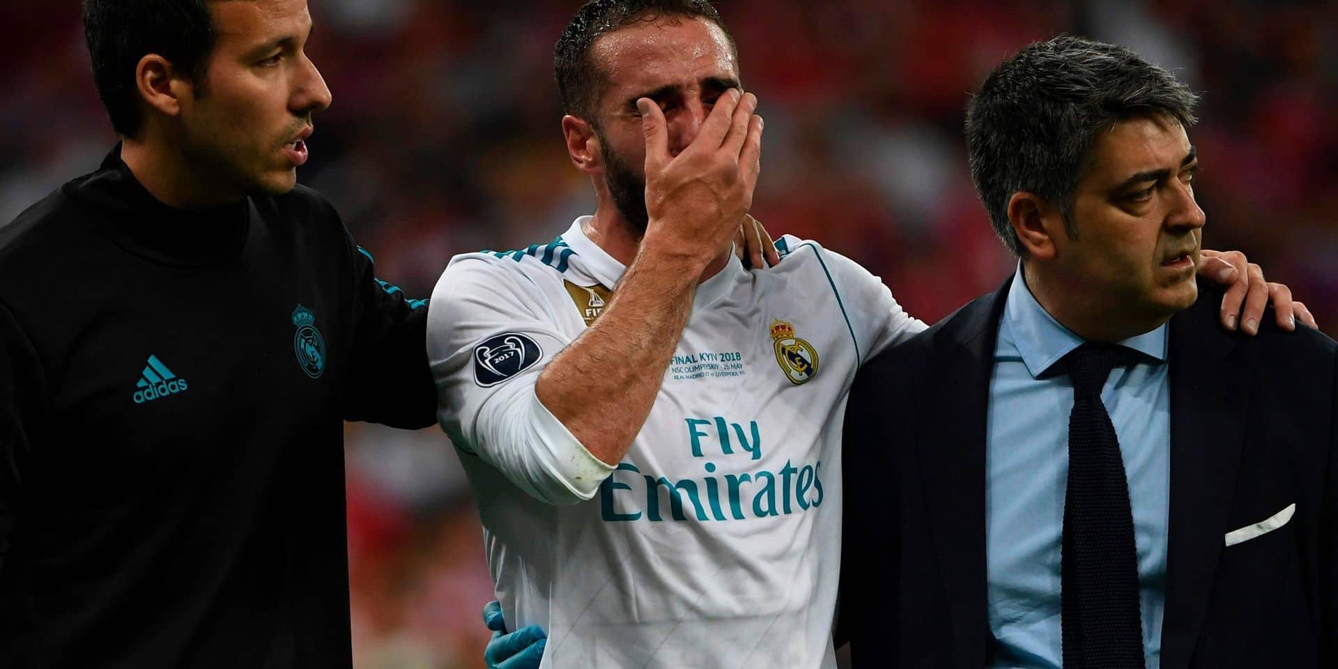 Mondial: blessé en finale de Ligue des Champions, il y a aussi de l'espoir pour Carvajal