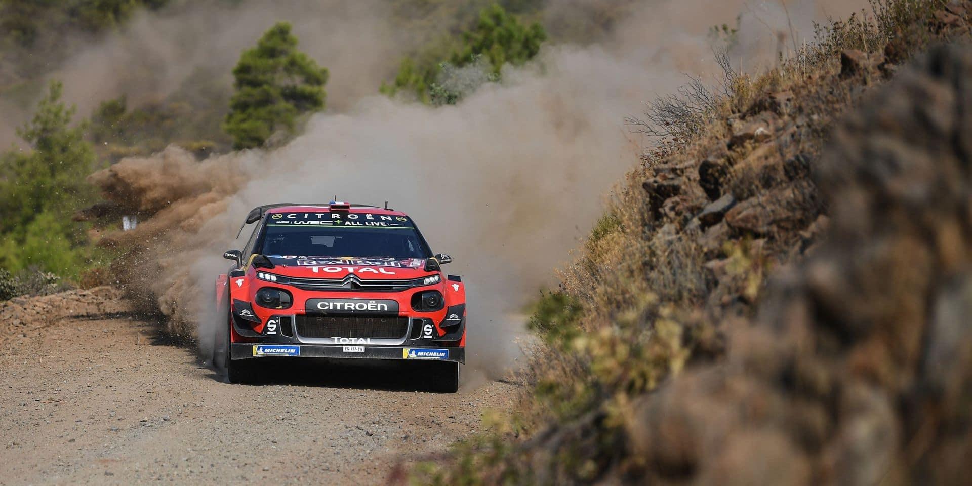 WRC: Violente sortie de route de Sebastien Ogier en test à Monte Carlo