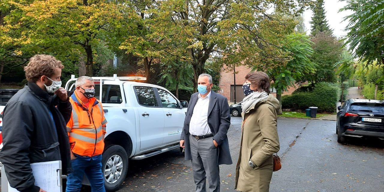 Woluwe-Saint-Pierre en campagne contre les sacs poubelles éventrés