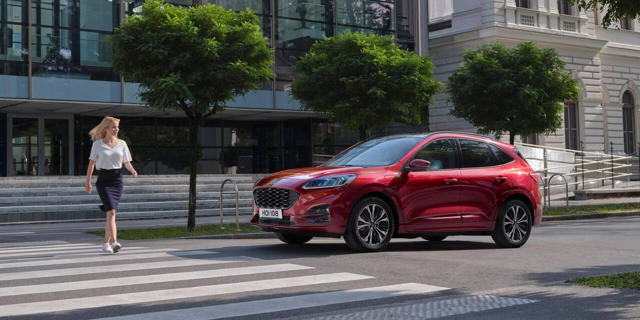 Essai auto Ford Kuga Hybride :Simple et efficace