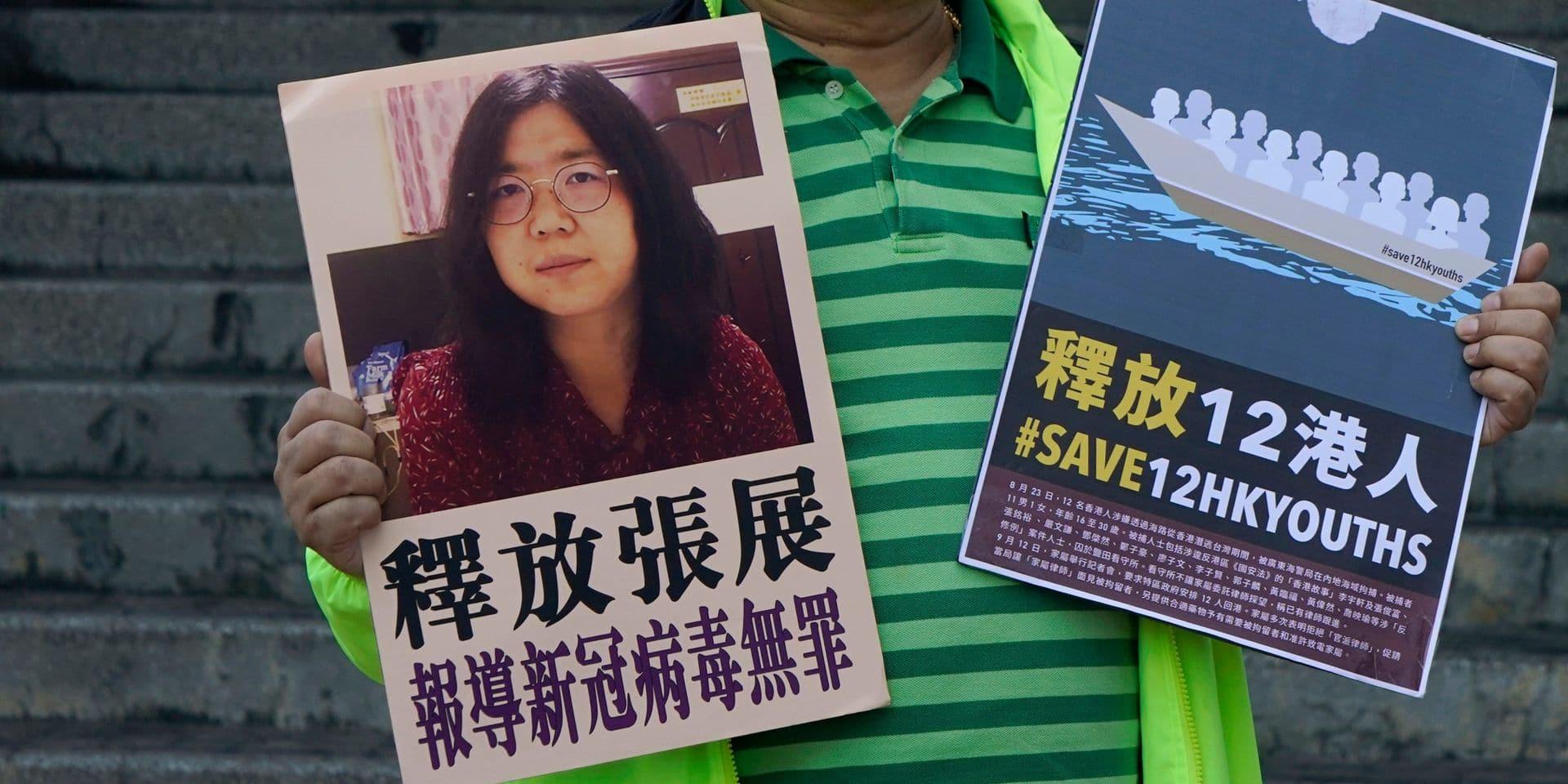 Le combat silencieux de Zhang Zhan, témoin du Covid emprisonnée à Wuhan