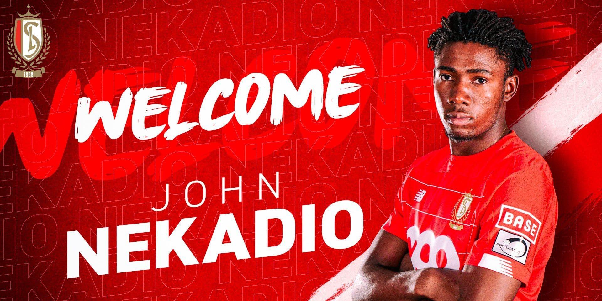 John Nekadio, le frère de Christian Luyindama, signe au Standard
