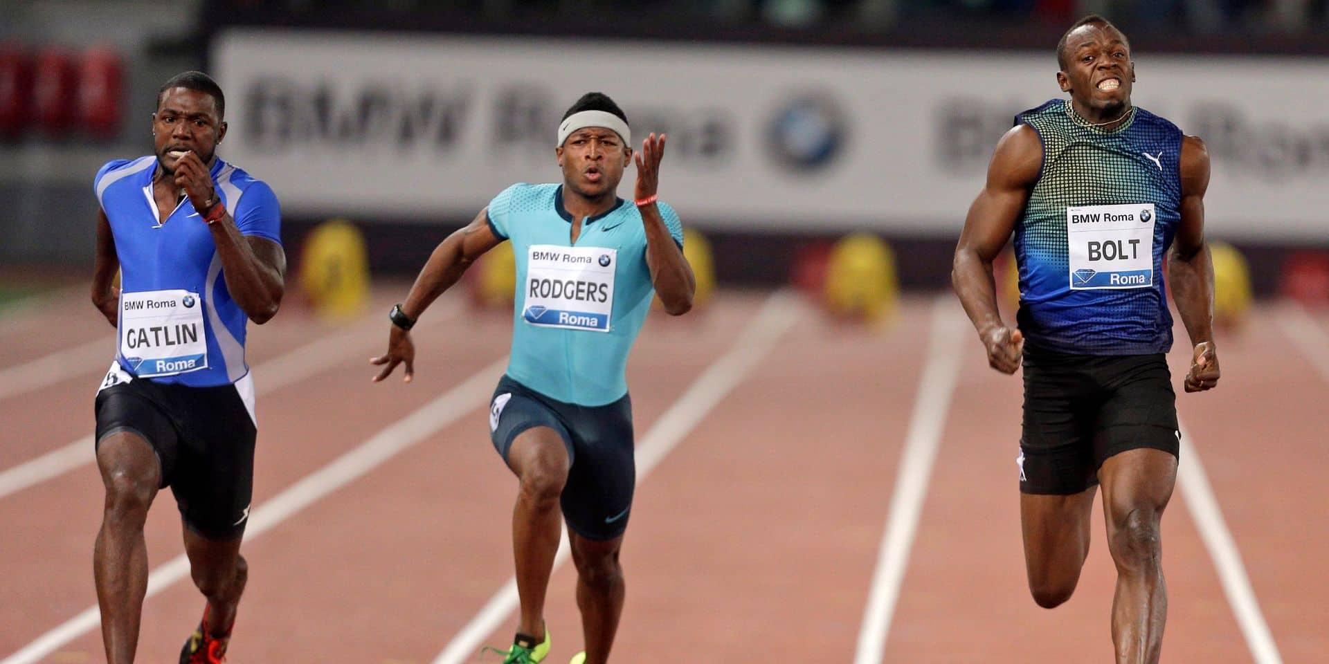 Meilleure performance de l'année pour Michael Rodgers sur 100m, talonné par Su Bingtian