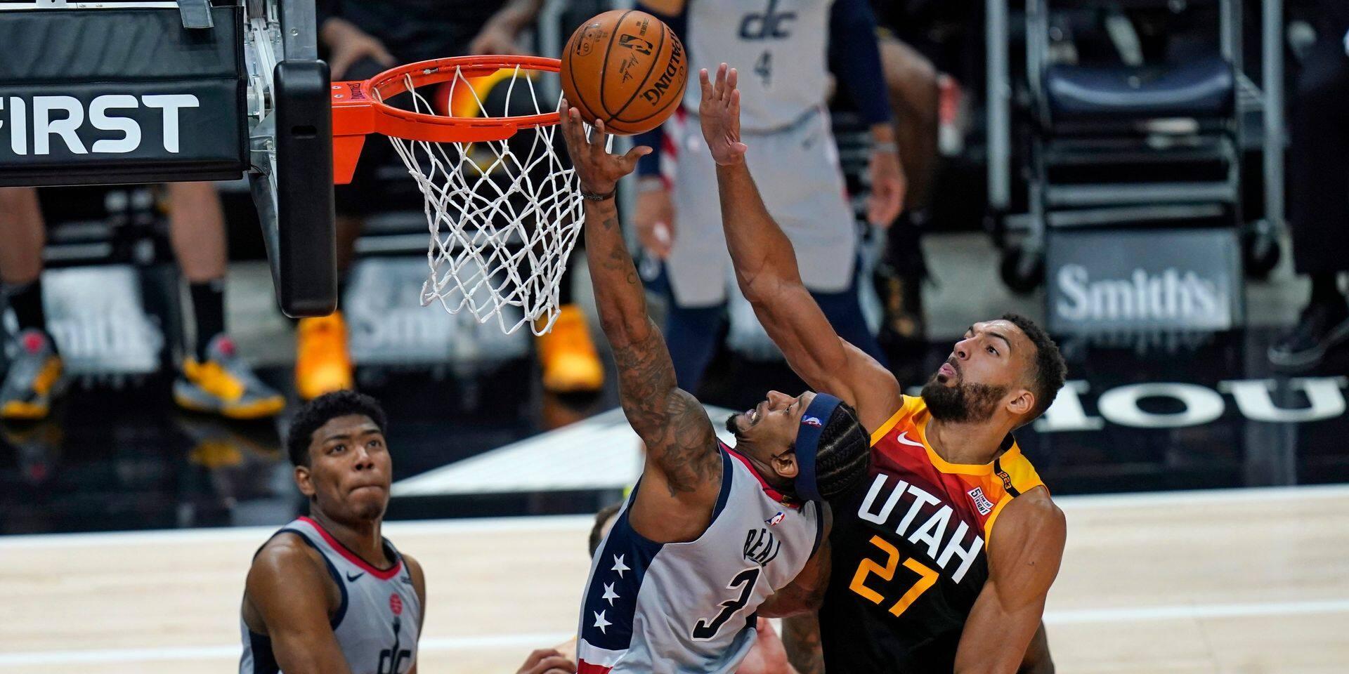 NBA: Embiid et les Sixers au top, Westbrook et les Wizards s'offrent le Jazz