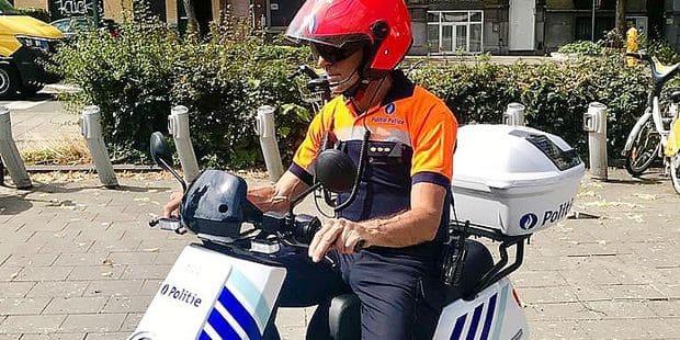 Nos policiers passent au vert : la police bruxelloise à la recherche de scooters… électriques