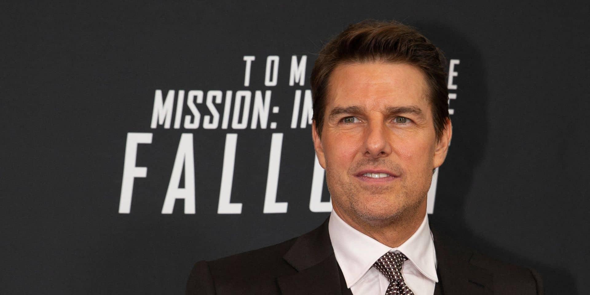 """""""Qu'a-t-il fait ?"""": Le visage gonflé de Tom Cruise inquiète les internautes"""