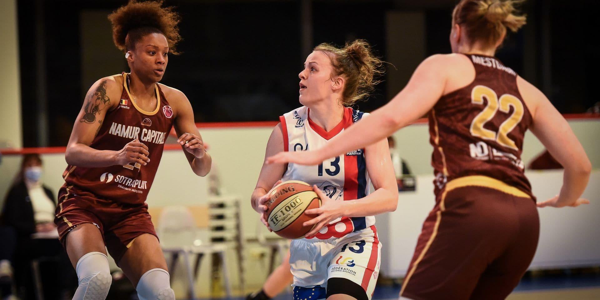 Basket: Battues à Namur, les Panthers défieront Braine jeudi en demi-finale des playoffs