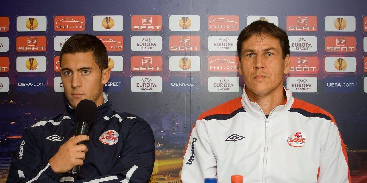 Rudi Garcia vole au secours d'Eden Hazard: