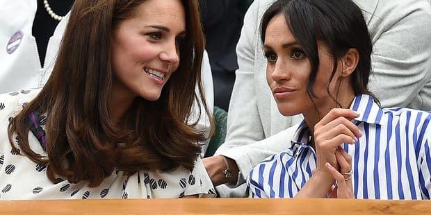 Kate Middleton est une source de soutien pour Meghan Markle - La DH