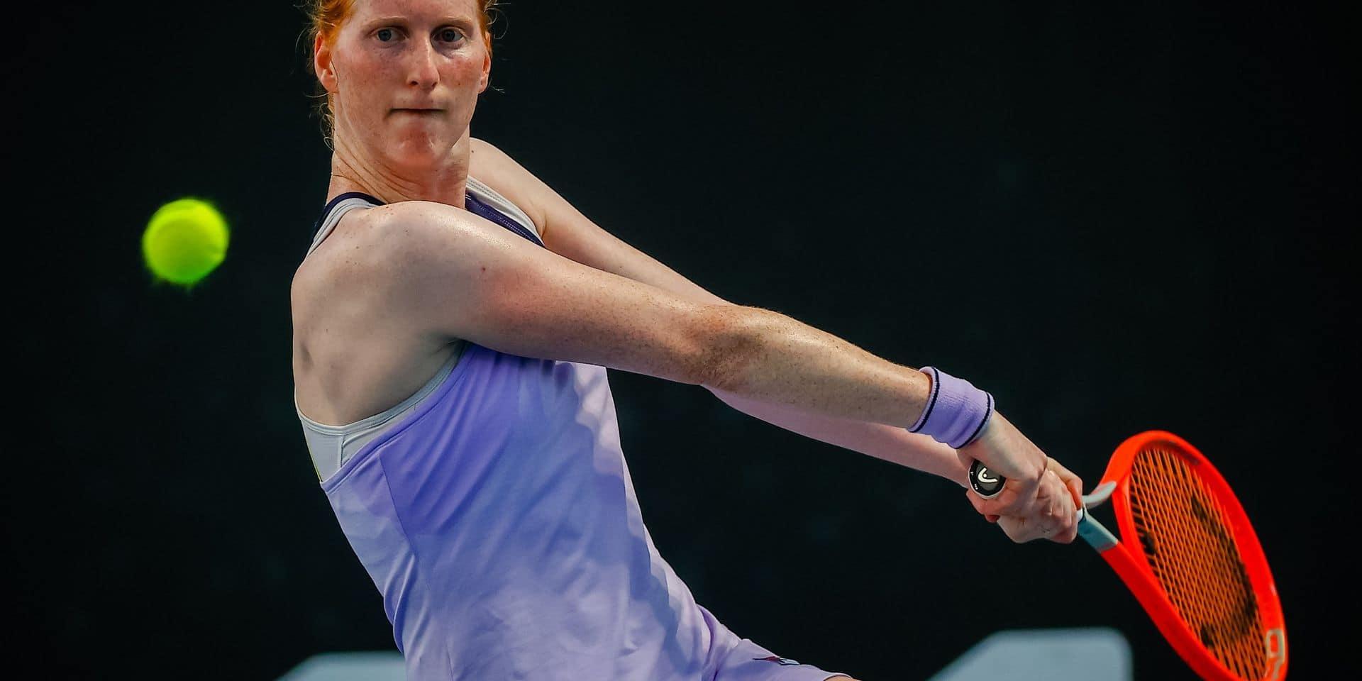 Alison Van Uytvanck rejoint la finale de l'Astana Open