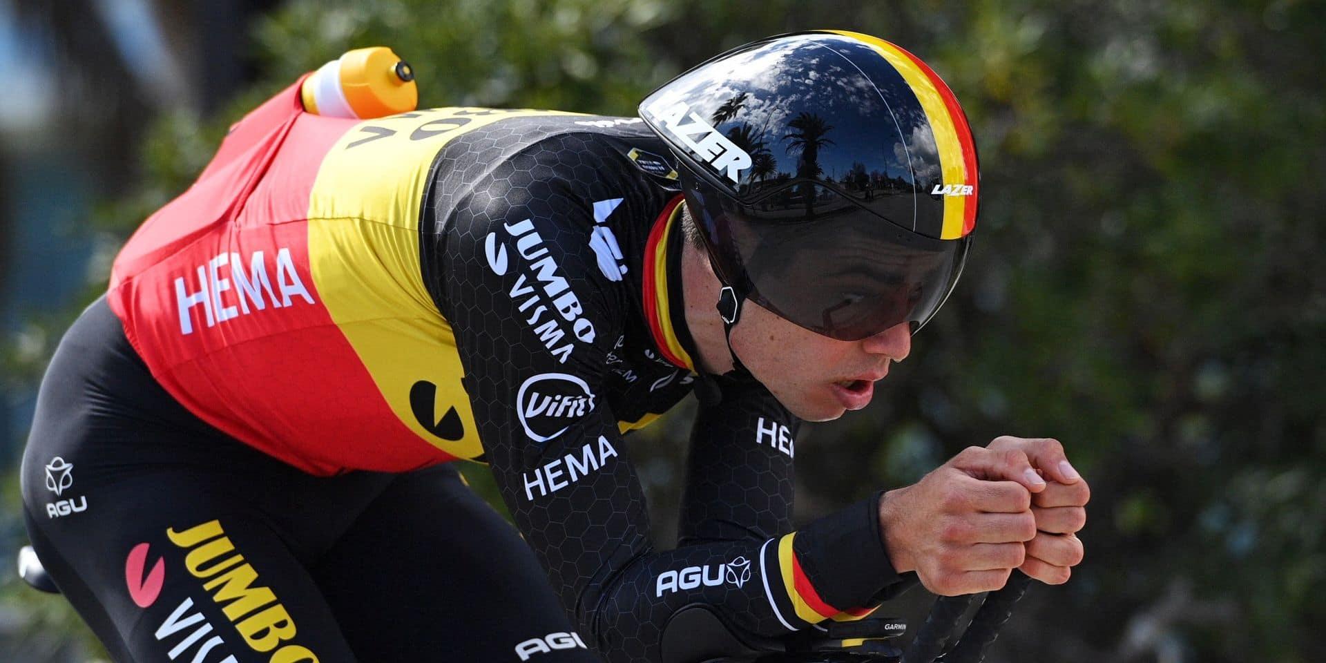 Van Aert remporte le chrono de Tirreno-Adriatico, Pogacar vainqueur final