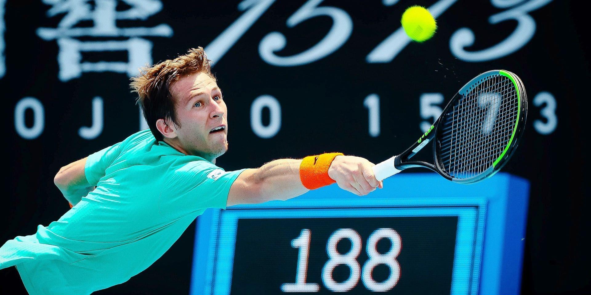 Challenger de Prague: Kimmer Coppejans éliminé en quarts de finale du double