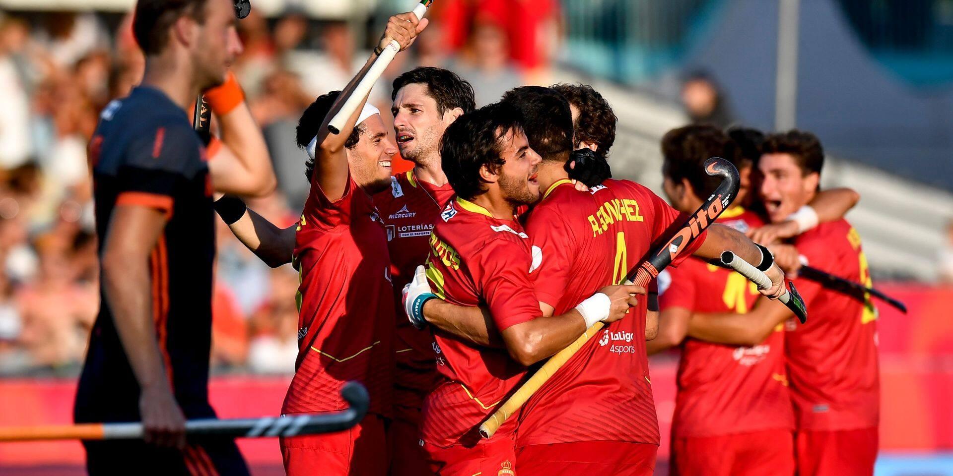 Euro 2019 de hockey: L'Espagne première finaliste surprise en battant les Pays-Bas 4-3