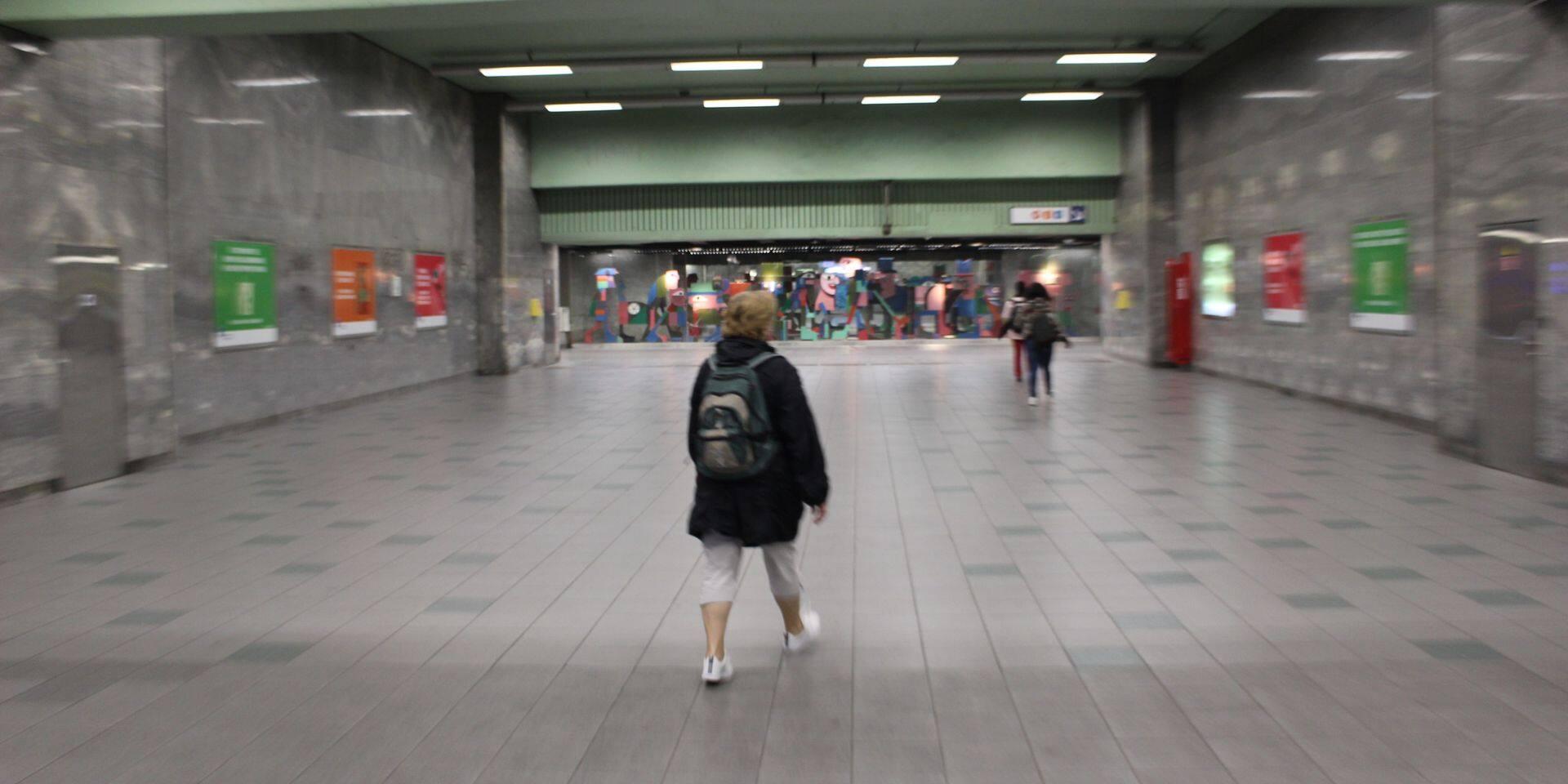 La drogue, fléau de la station de métro Botanique