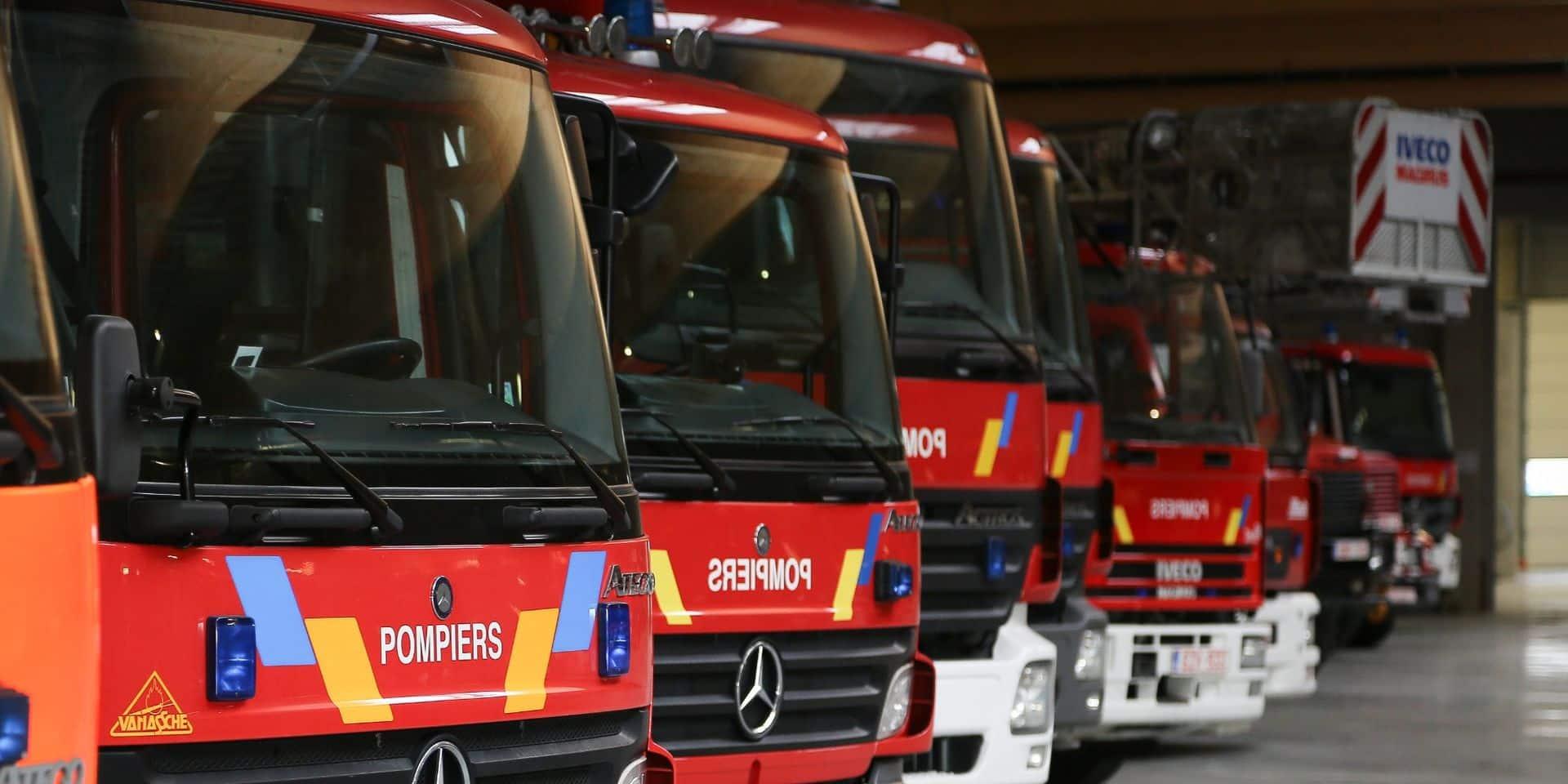 Un incendie suspect s'est déclaré dans un entrepôt à Mouscron