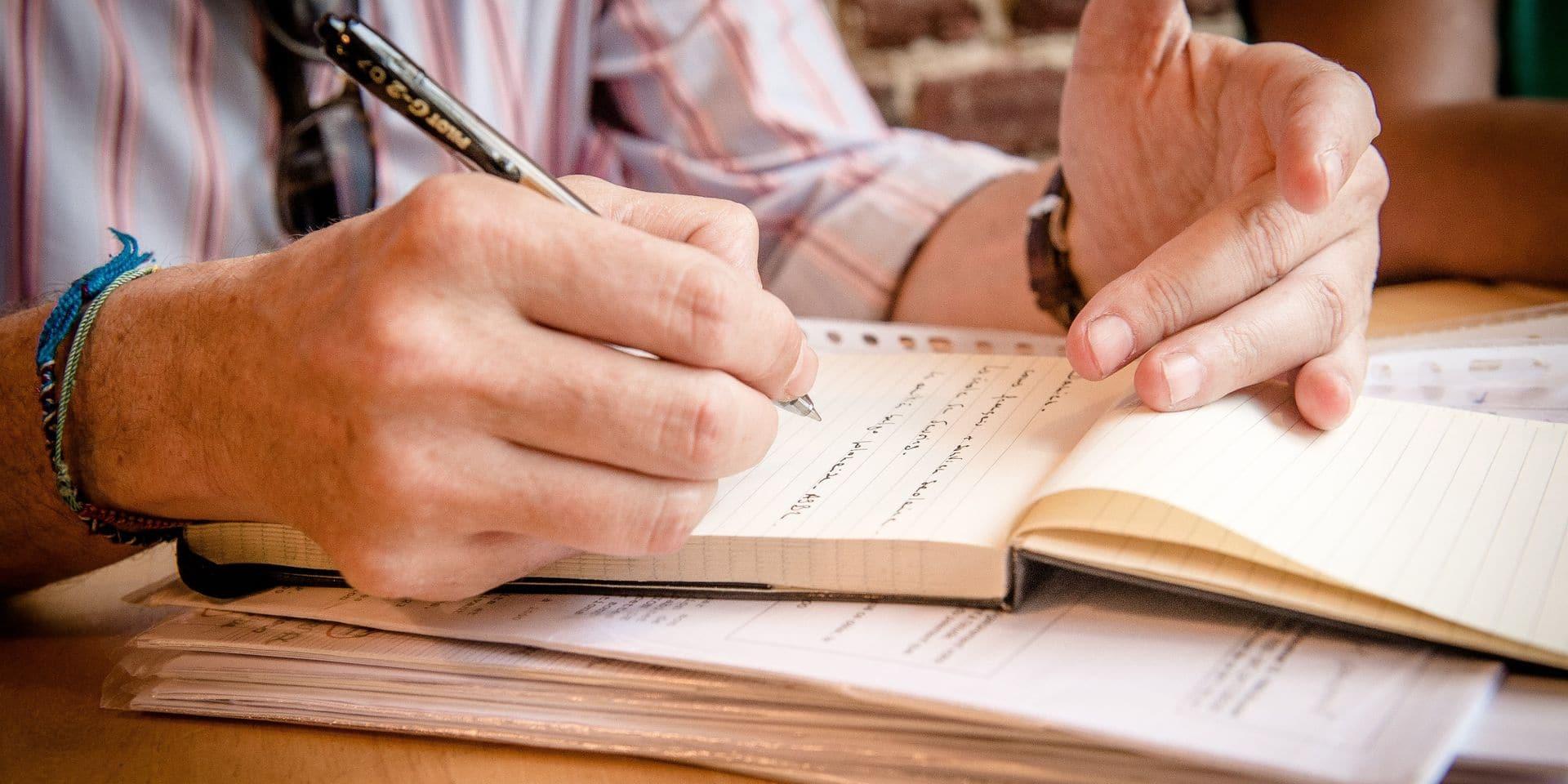 Limbourg : Un écrivain public