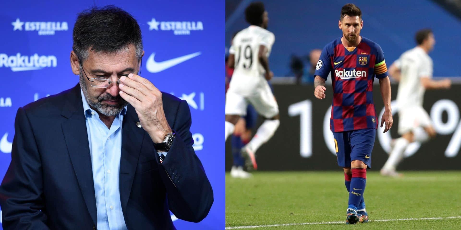 Bartomeu tremble: la première étape de la motion de censure initiée par les supporters du Barça est sur le point d'aboutir