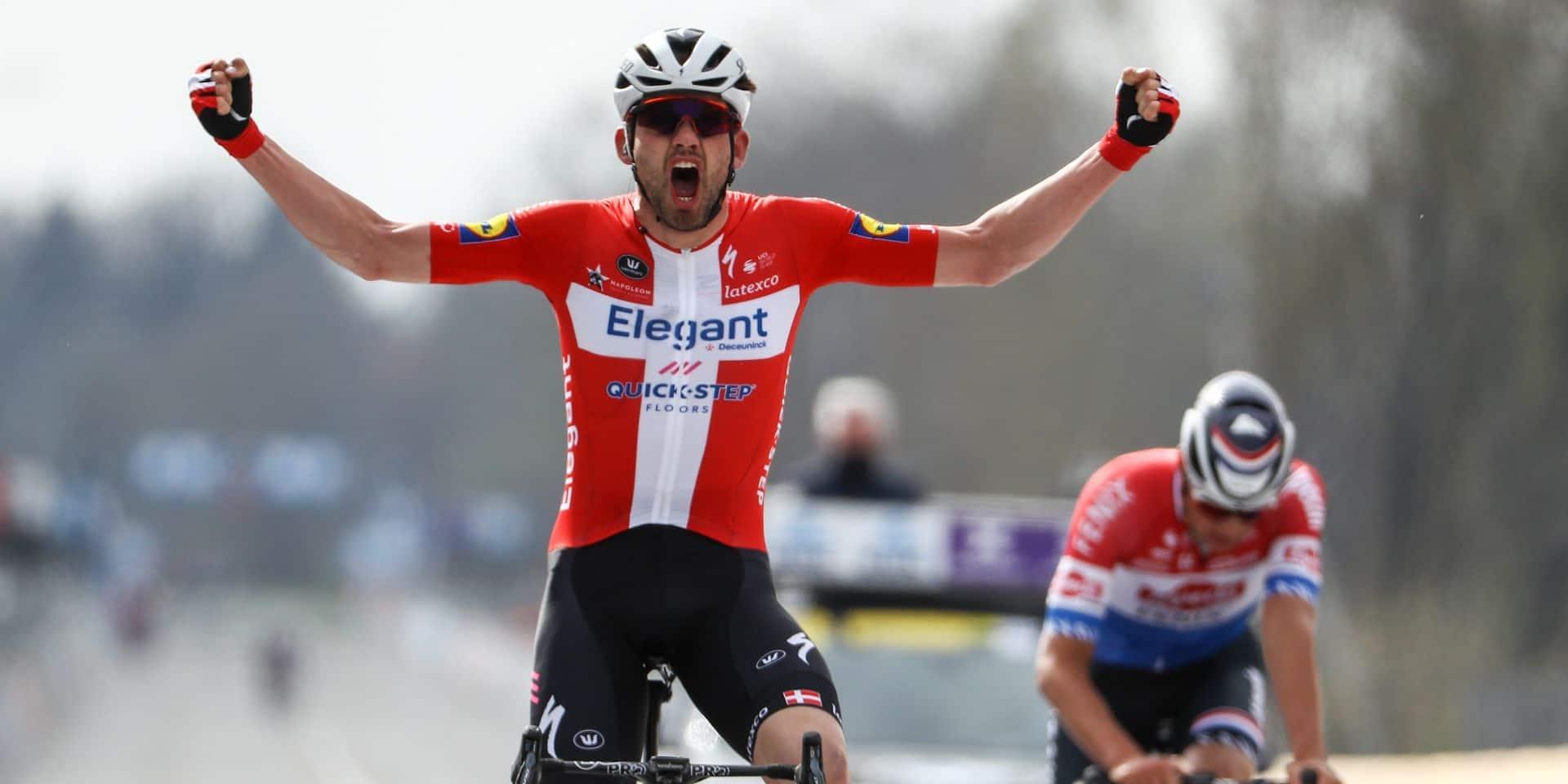 Kasper Asgreen n'est plus un fantôme après sa belle victoire au Ronde