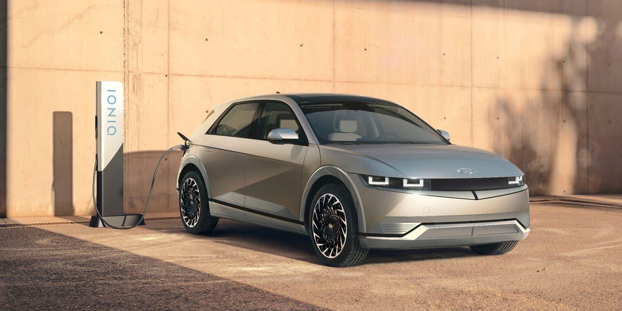 Ioniq 5 : la nouvelle compacte électrique de Hyundai - dh.be