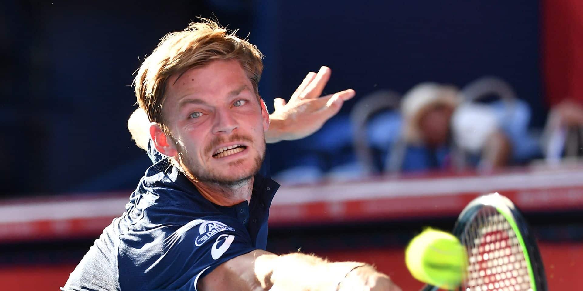 ATP Shanghaï: David Goffin écarte facilement Richard Gasquet au premier tour
