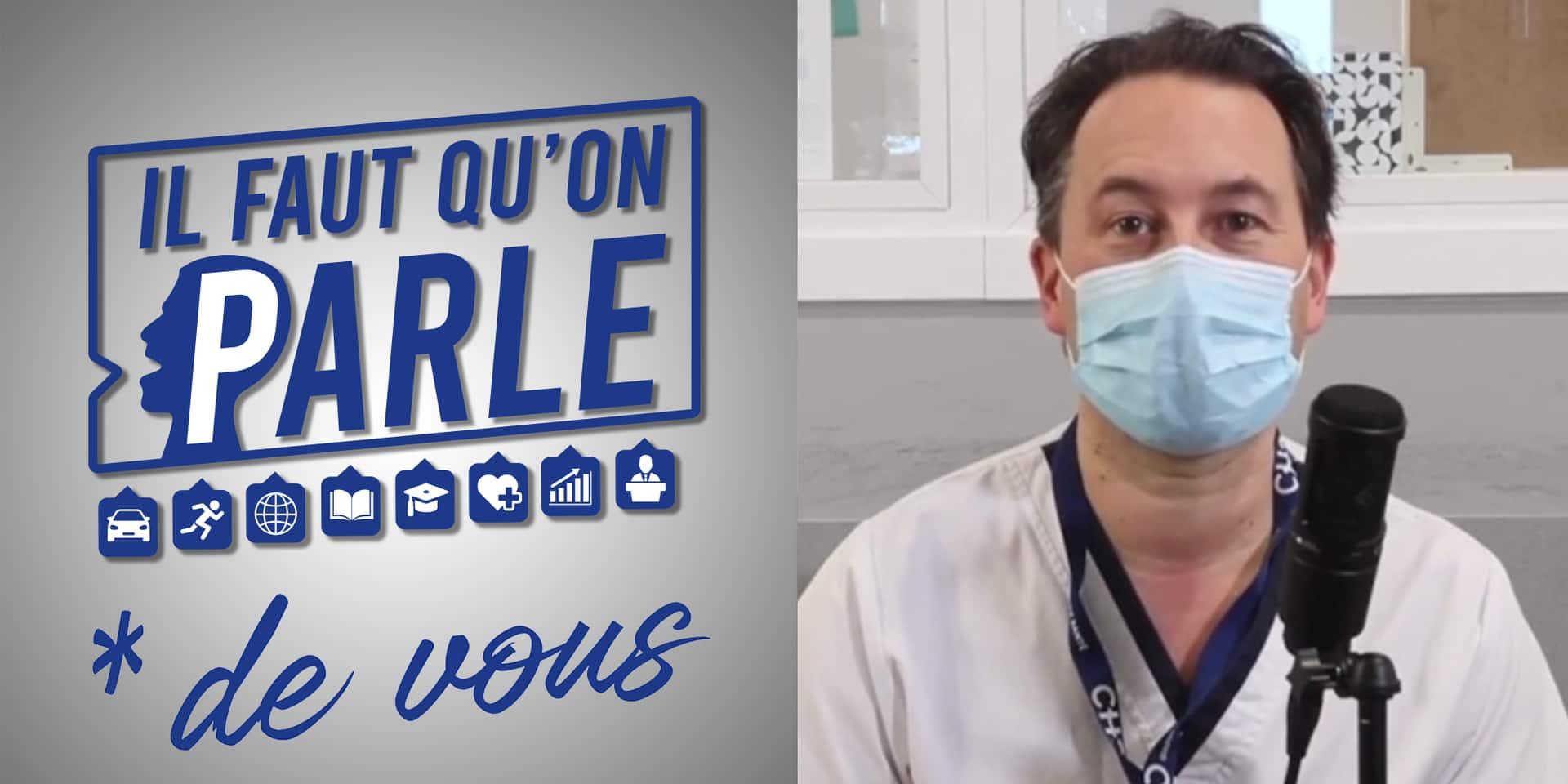 """Le docteur Philippe Devos nous parle, cette fois, plus de lui que de la crise : """"je ne serai jamais ministre de la Santé"""""""
