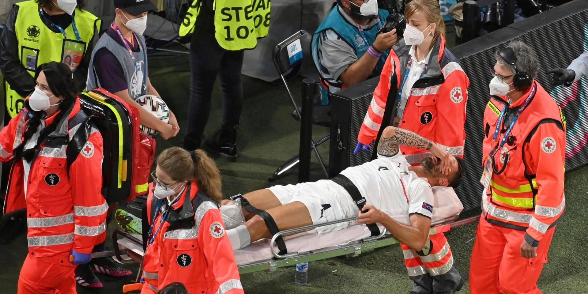 Leonardo Spinazzola, opéré du tendon d'Achille, assistera à la finale à Wembley dimanche