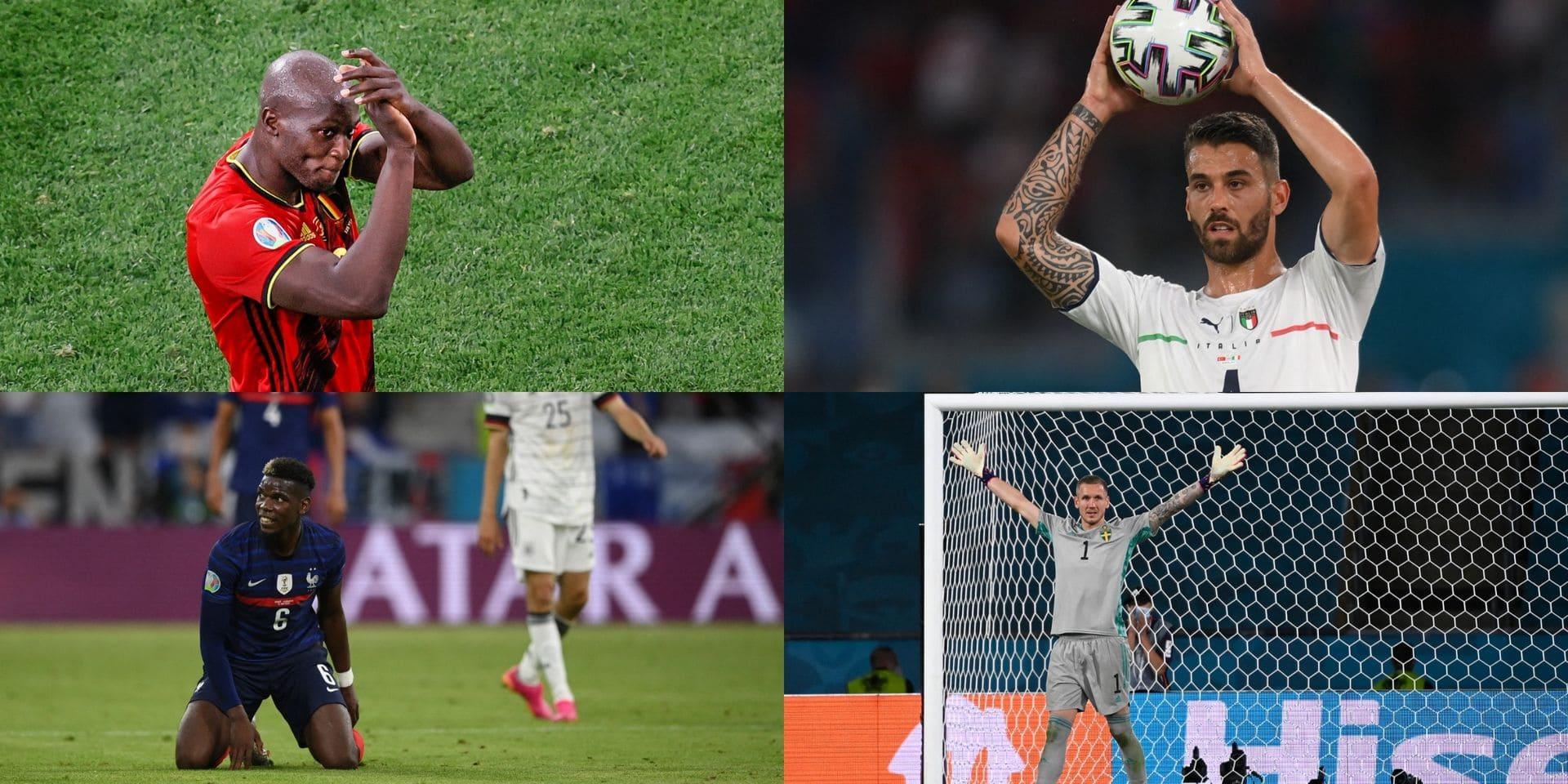 Lukaku, Pogba, Spinazzola...: voici notre onze type de la première journée de l'Euro