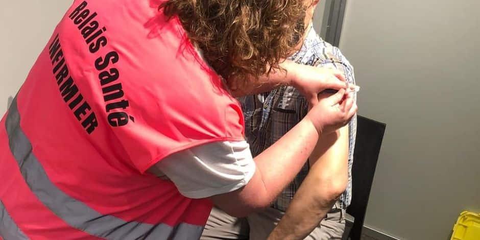 Namur : 198 personnes en situation de grande précarité ont été vaccinées