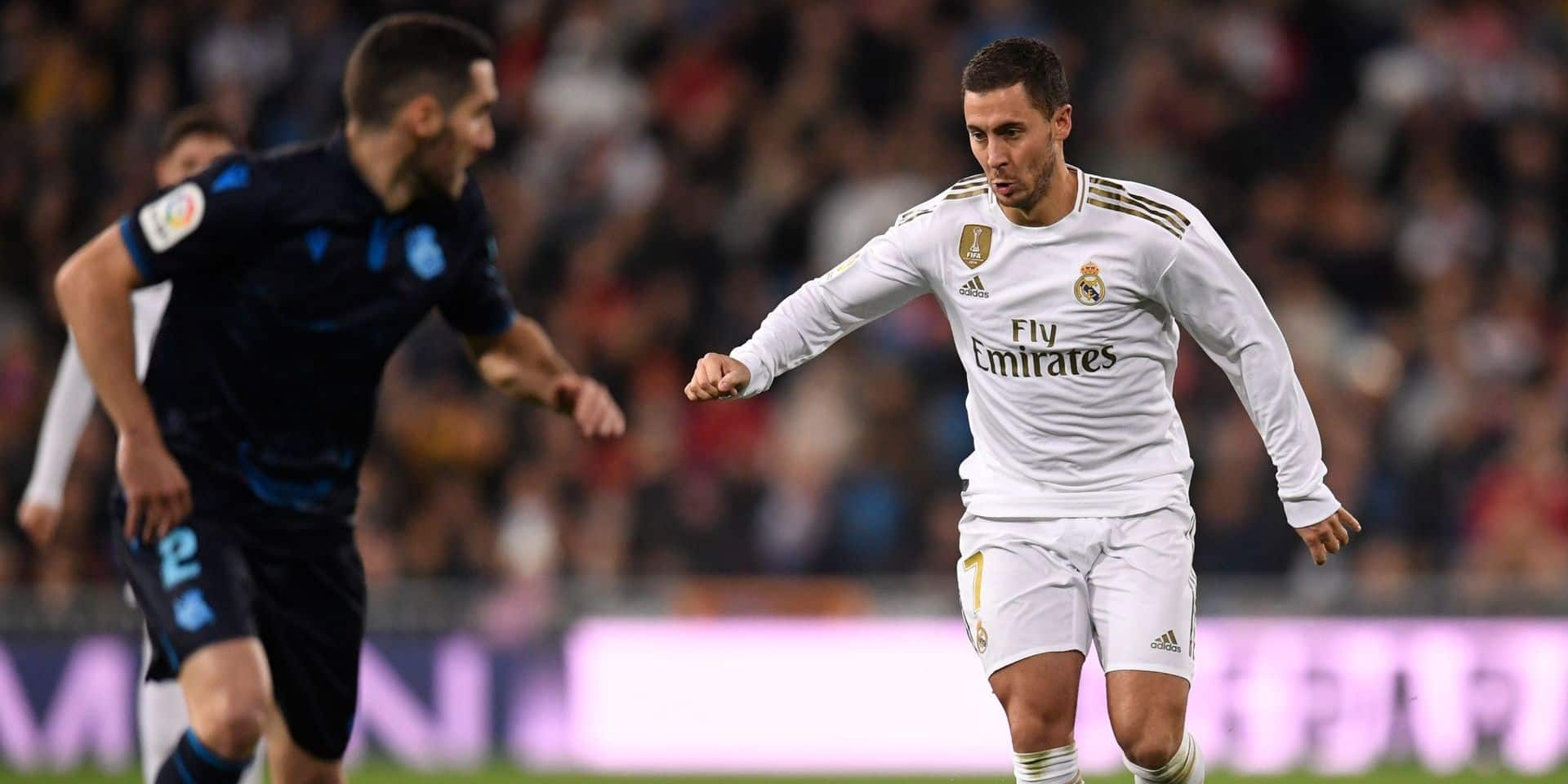 Il n'a fallu que 14 matches à Hazard pour battre un joli record au Real Madrid