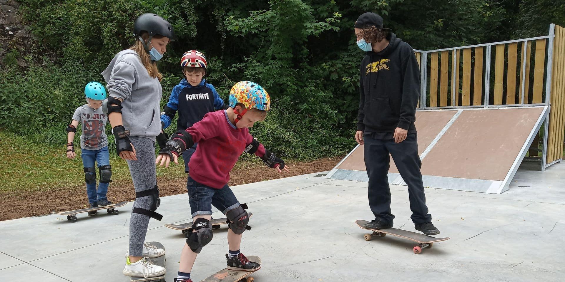 Un skatepark à La Roche