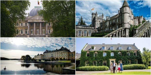 Où vivent les familles royales européennes ? - La DH