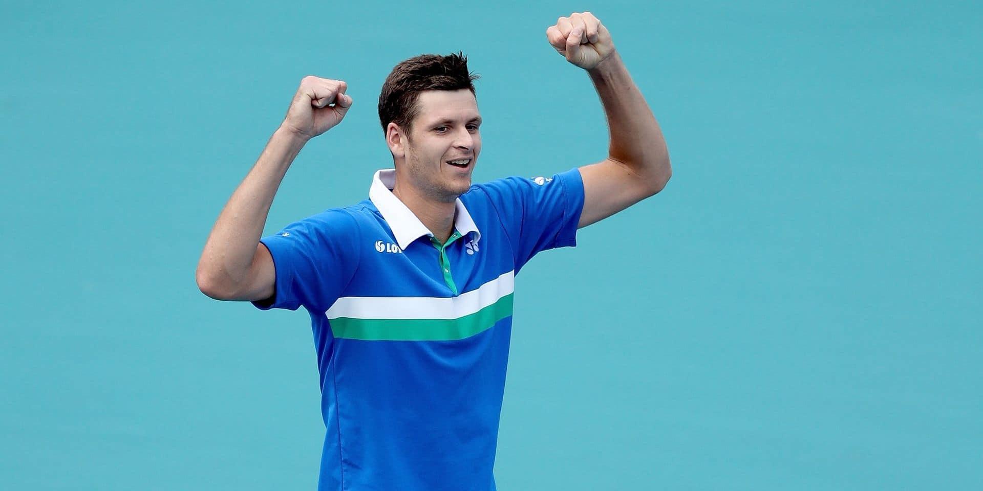 Classement ATP: Goffin perd une place, la sensation Hurkacz en gagne 21!