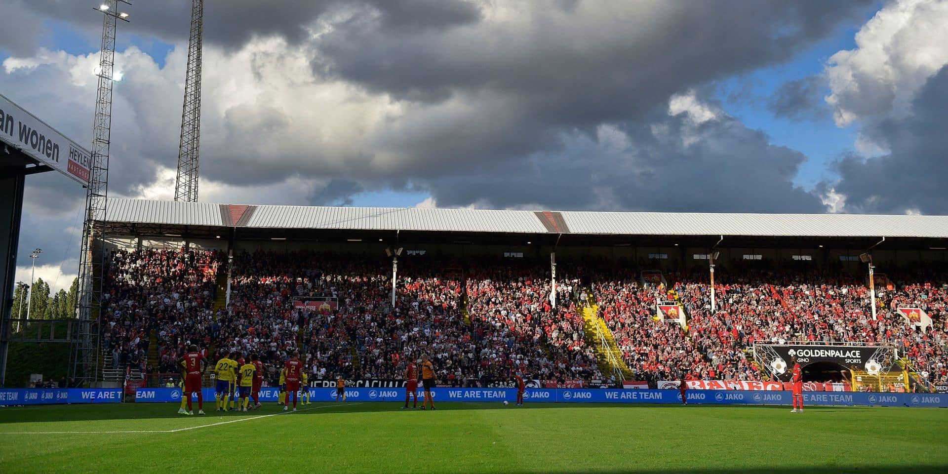 Jupiler Pro League : La Ville d'Anvers approuve la construction d'une nouvelle tribune au Bosuil