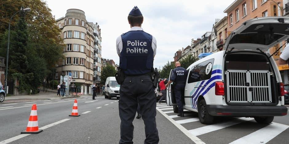 Bruxelles Nord : Saisie administrative d'un véhicule rue d'Aerschot suite à un rodéo