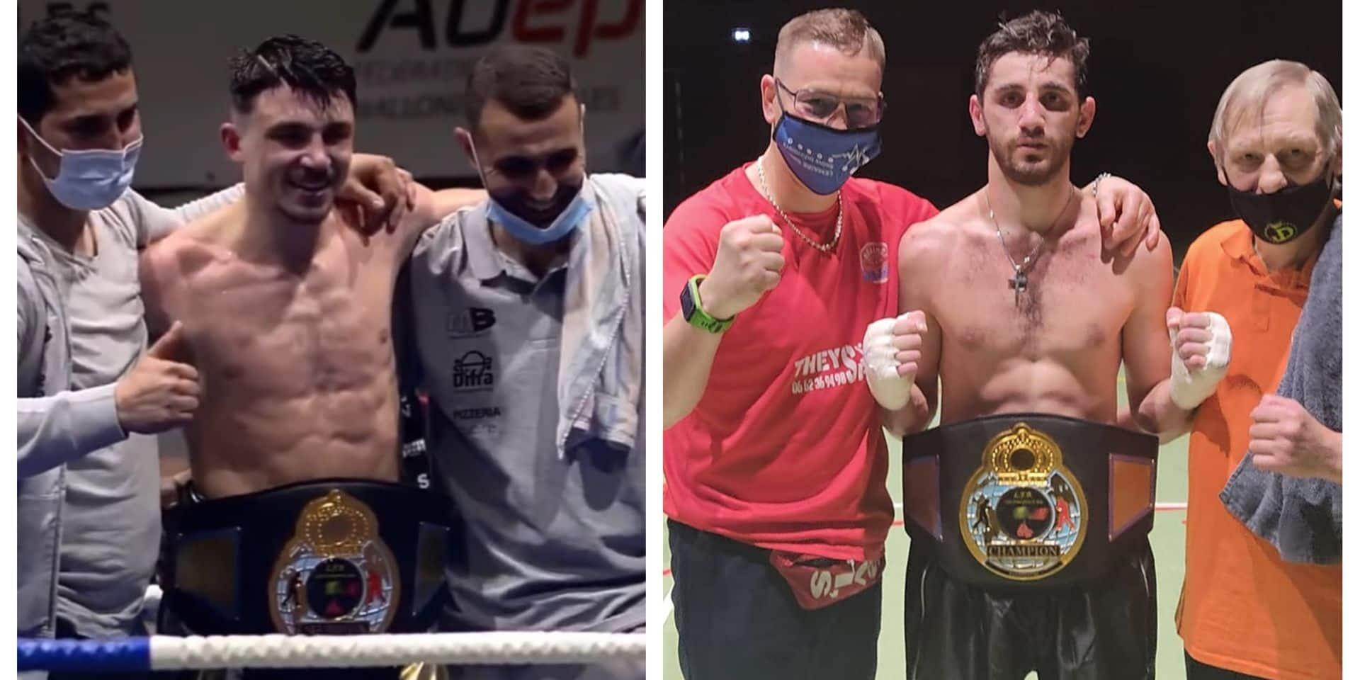 Boxe : Amaury Massenaux et Surik Petrosyan sacrés champions francophones lors de la réunion de Visé
