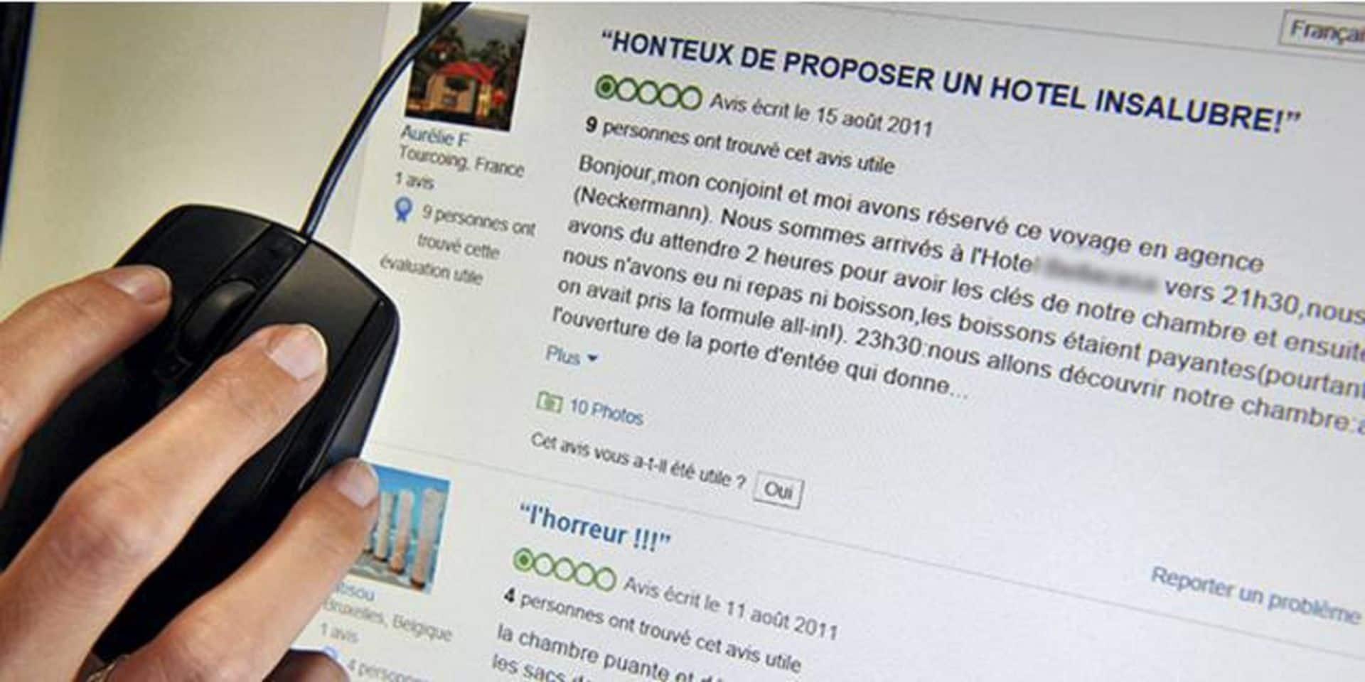 Comment la guerre des faux avis sur Tripadvisor, Amazon ou Booking trolle les consommateurs