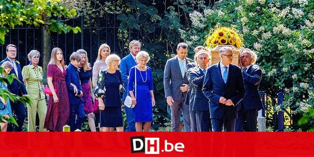 Dutch Royal family attend the funeral ceremony of Princess Christina at the Royal Stables in The Hague, The Netherlands, 22 August 2019. Photo: Photo: Patrick van Katwijk | Reporters / DPA