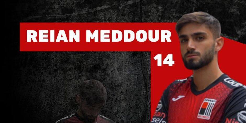 Reian Meddour signe au RWDM