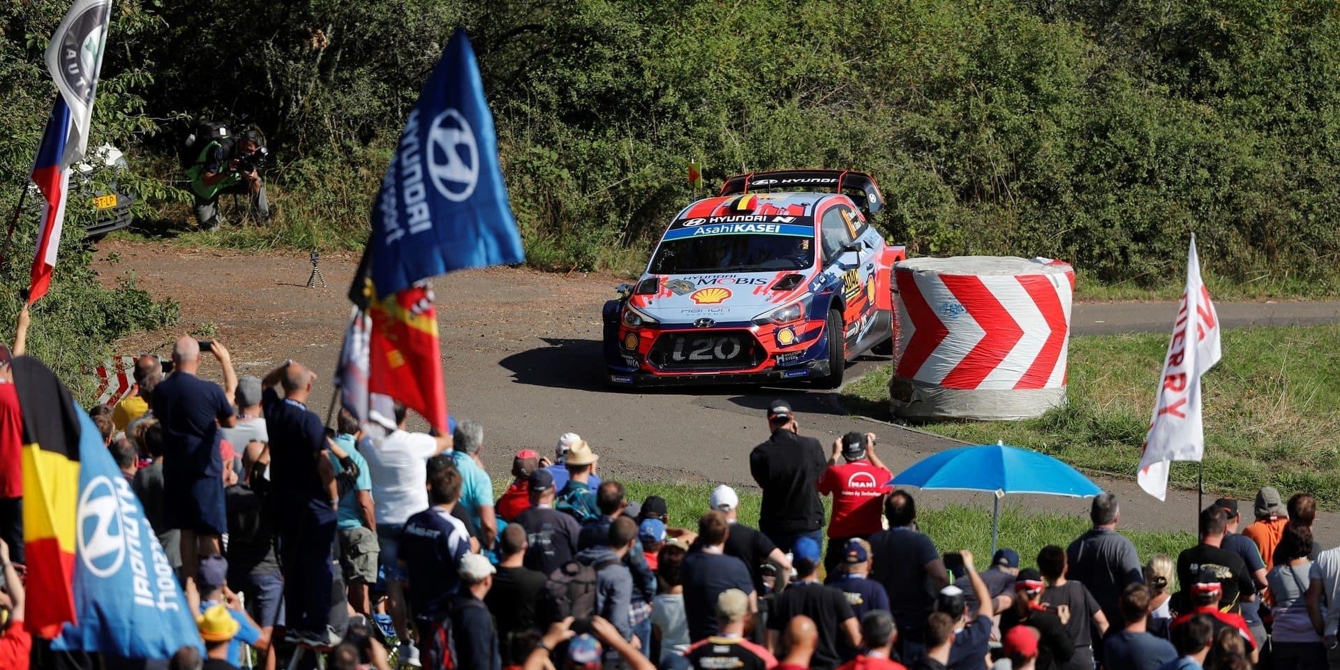 WRC Allemagne: Les trois candidats au titre en trois dixièmes sur plus de 5 km au shake down