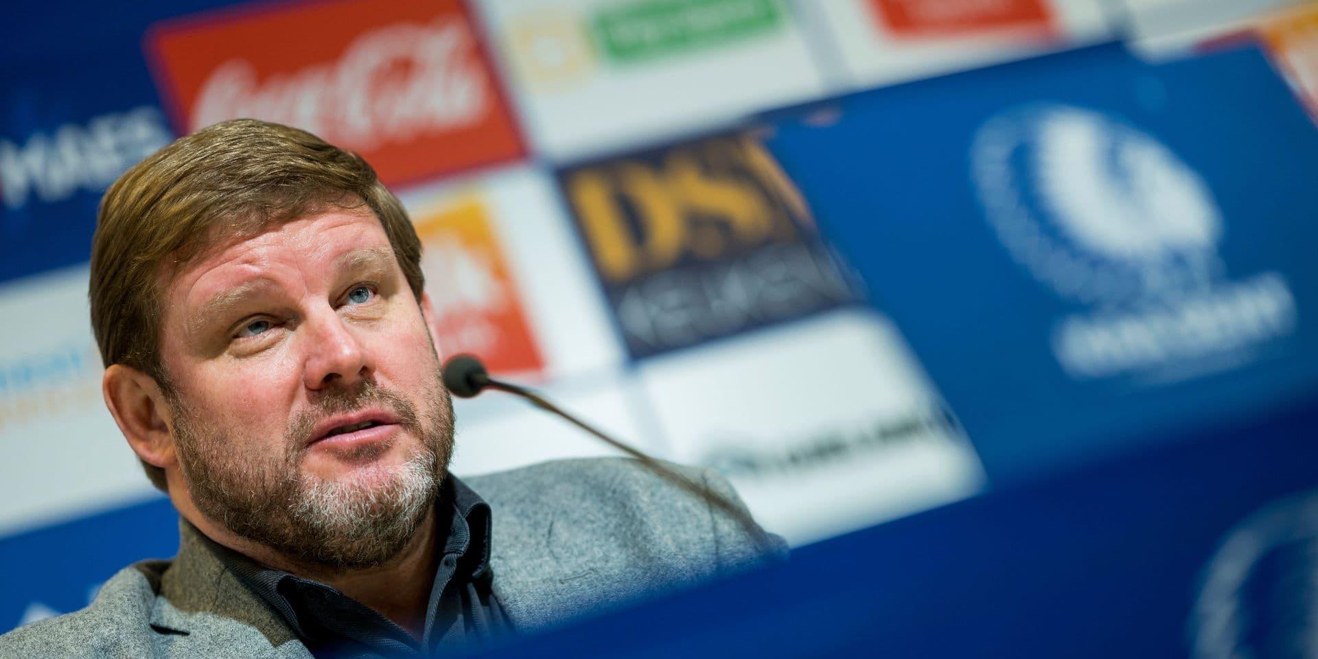 """Vanhaezebrouck de retour au Parc Astrid: """"La tempête ne s'est pas encore calmée à Anderlecht"""""""