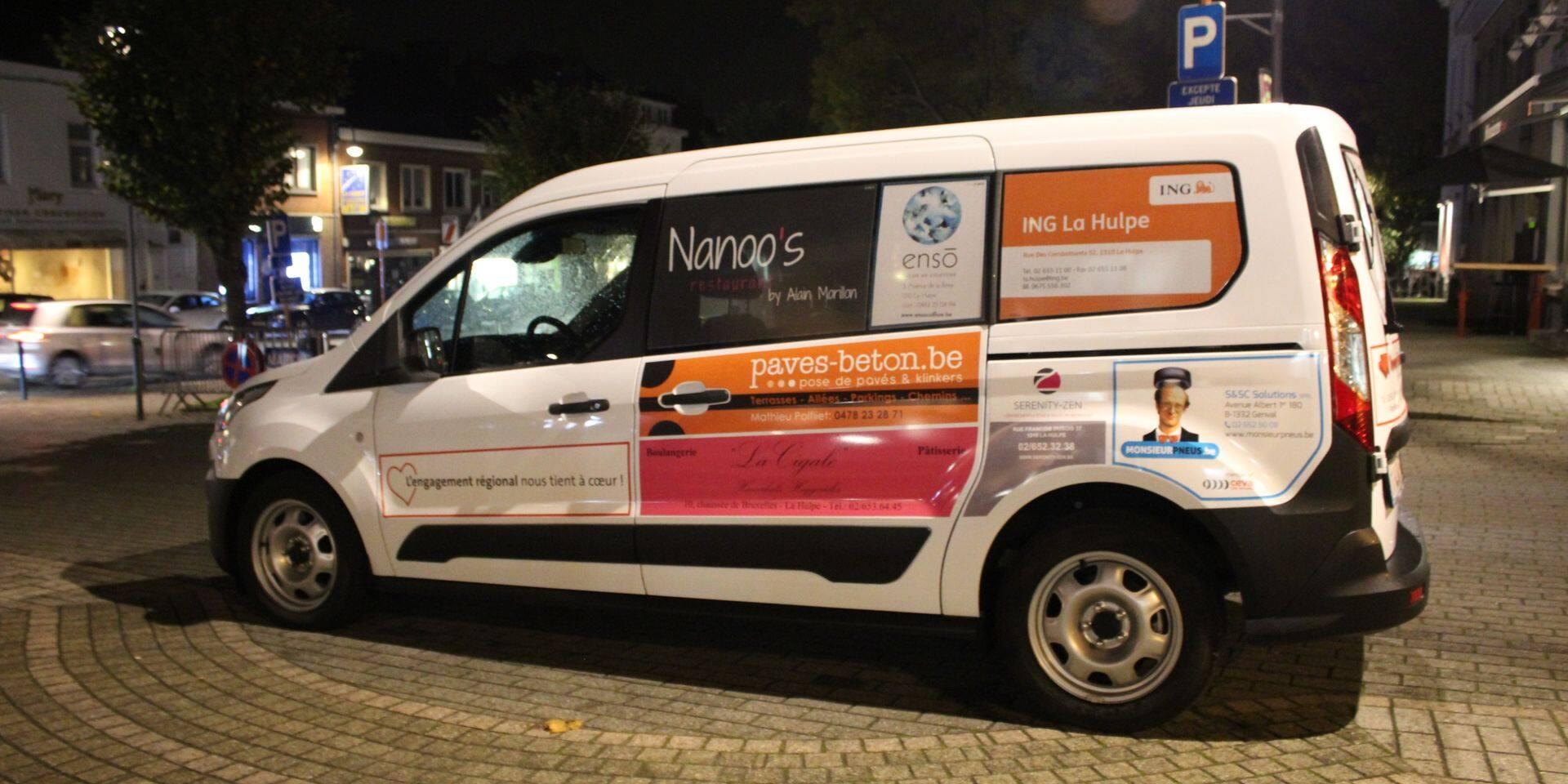 Des commerçants financent un taxi citoyen à La Hulpe